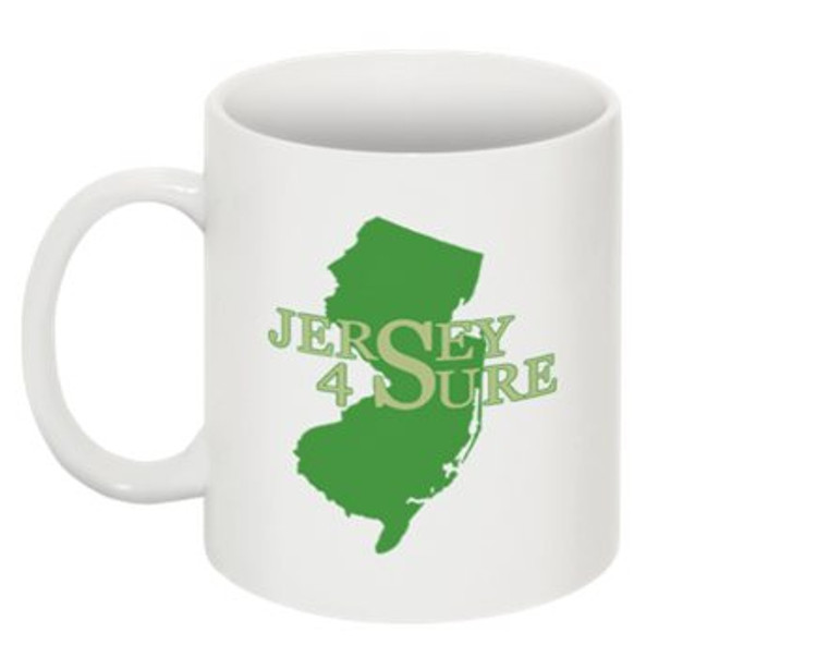 Jersey 4 Sure Mug Green NJ