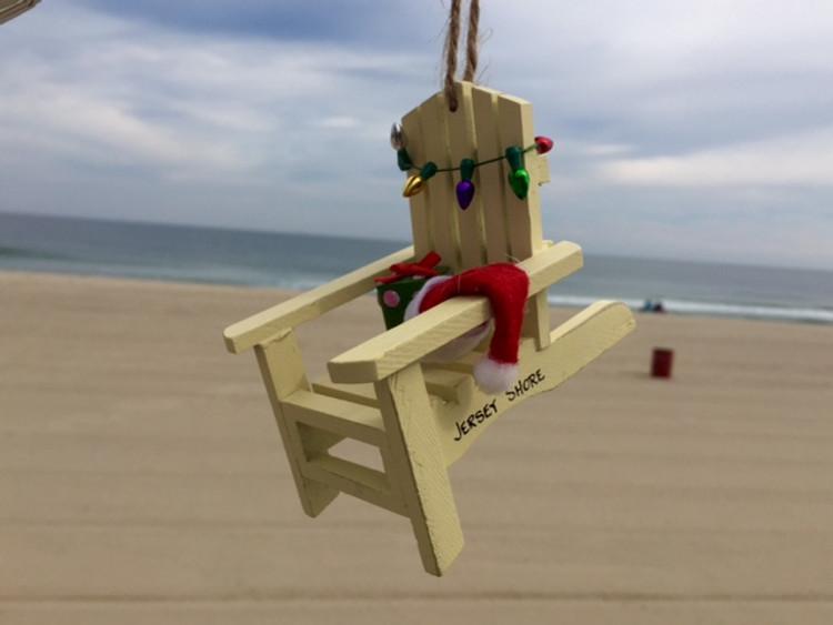 Adirondack Chair Lights Ornament