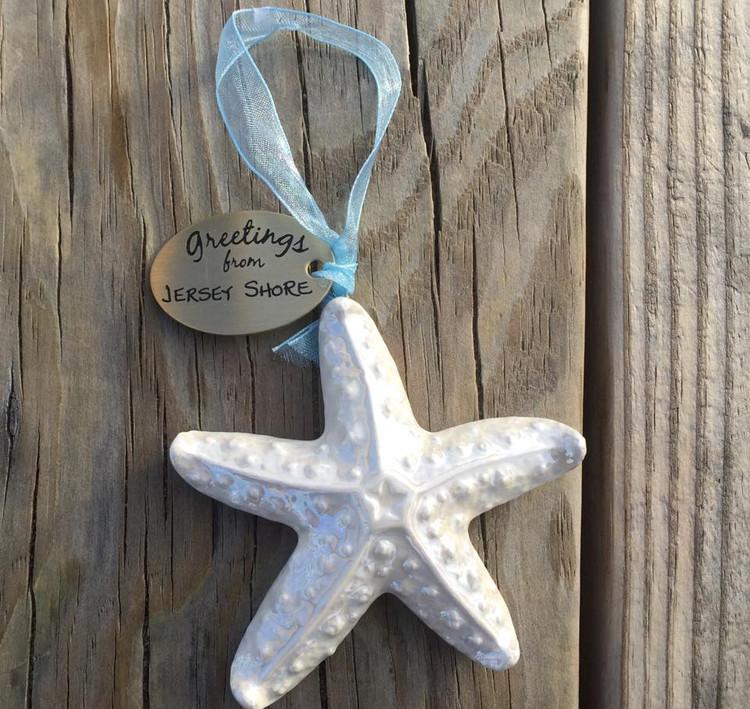 Ceramic Starfish Ornament