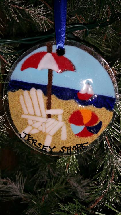 Beach Chair Handmade Ornament