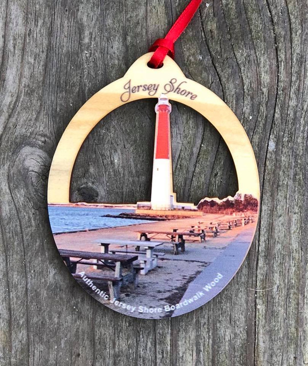 Barnegat Lighthouse Boardwalk Ornament