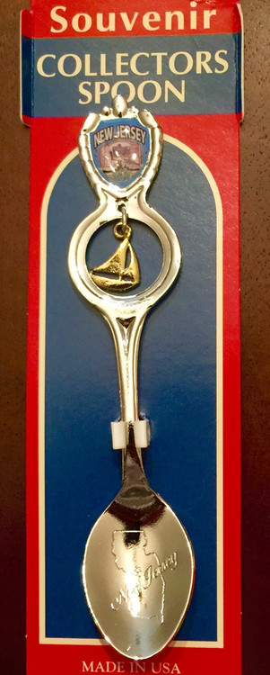 Spoon / Tea Dangle Sailboat - New Jersey
