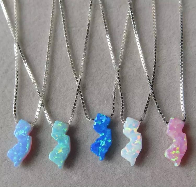 Handmade Opal Necklace