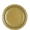 Gold Paper Plates (8)