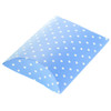 Mini Blue Polka Dot DIY Pillow Favour Box (1)