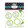 Candy Buffet Scalloped Labels Kiwi Green (20)