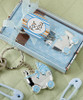 Baby Carriage Design Key Chains (Blue)