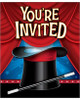 Magician party invites (8)