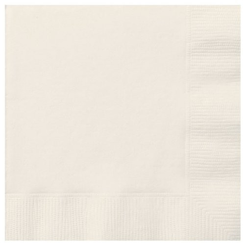 Ivory Lunch Napkins (20)