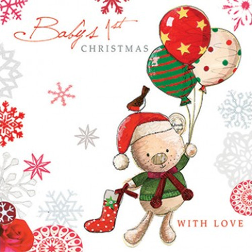 Baby's First Christmas Card (1)