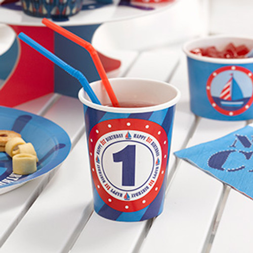 1st Birthday Crew Cups (8)