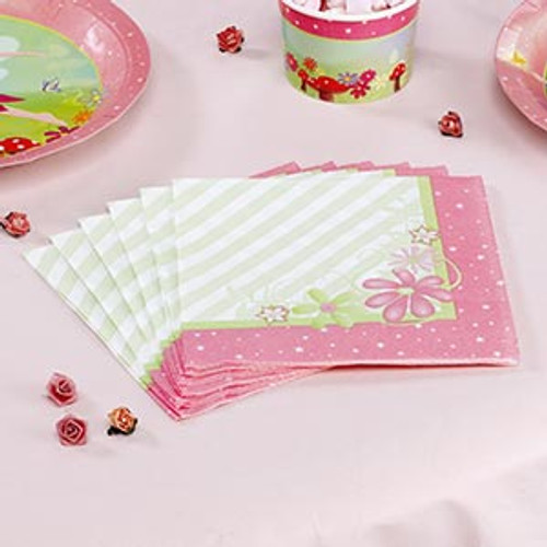 Magical Fairy Princess Lunch Napkins (20)