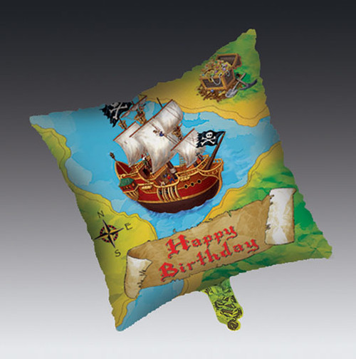 Pirates Buried Treasure Foil Balloon (18 Inch)