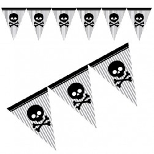 Pirate Party Flag Banner (12ft)