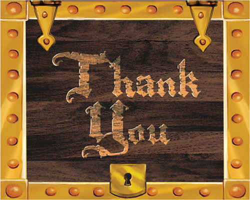 Pirates Buried Treasure Thank You Cards (8)