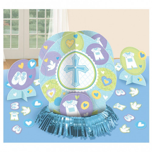 Boy Christening Table Decorating Kit