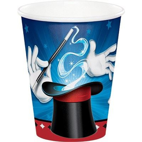 Magician party cups (8)