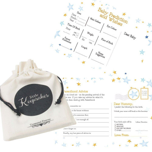 Twinkle little star boy predictions and wishes cards (16)