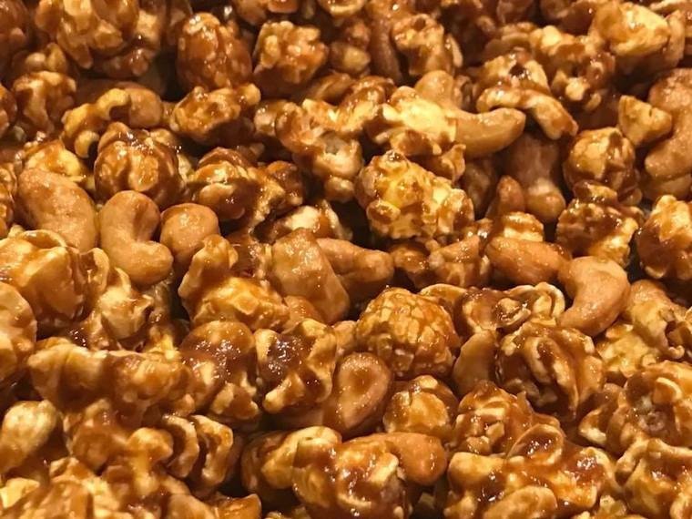 Caramel Nut Cluster