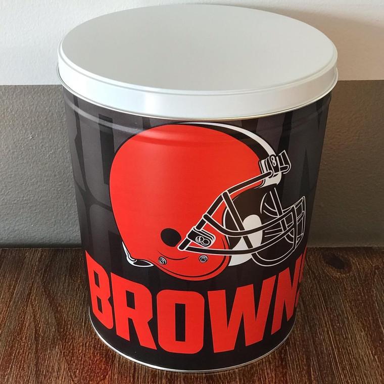 Cleveland Browns Tin - 3.5 Gallon
