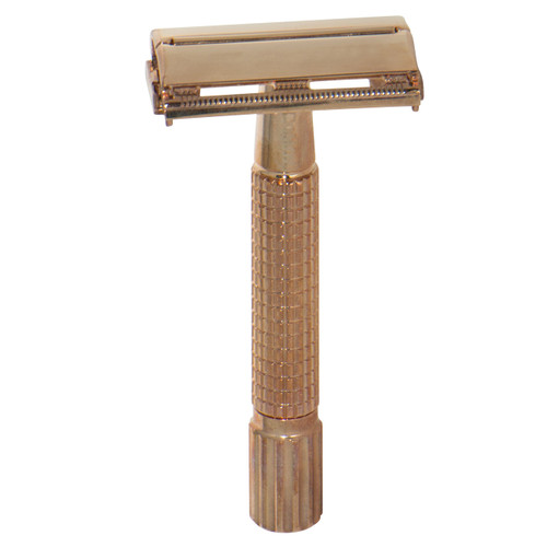 24k Rose Gold Safety Razor