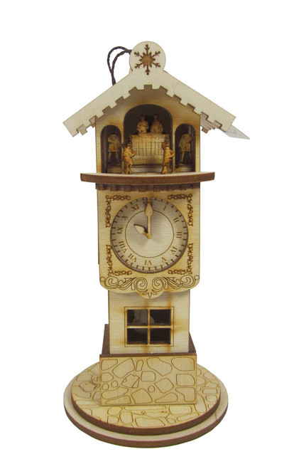 Ginger Clock Tower Christmas Cottage