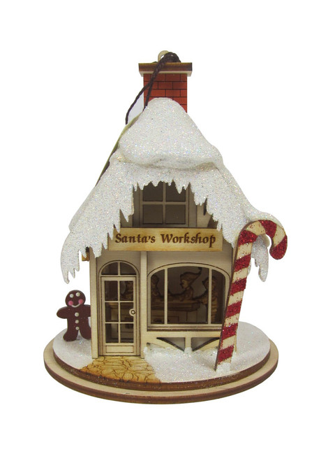 Santa's Workshop Christmas Cottage