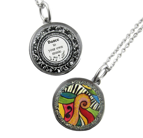 Spirit Lala Necklace - Dance to your own music