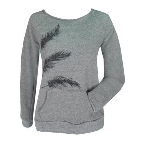 Lux Sweatshirt - Feathers