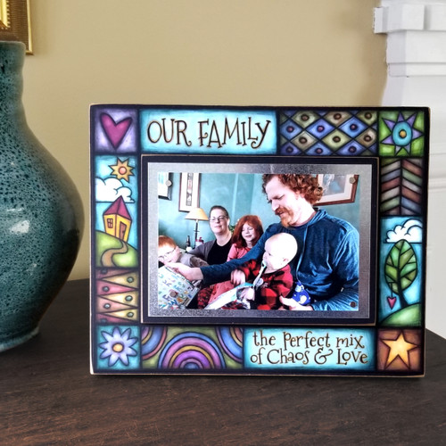 Wood Art Frame - Love Our Family