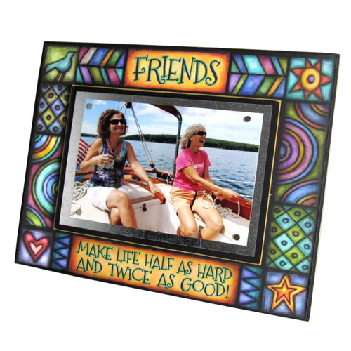 Wood Art Frame - Friends