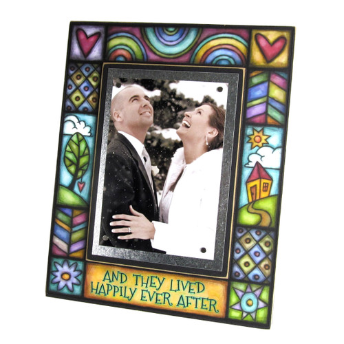 Wood Art Frame - They Lived Happily Ever After