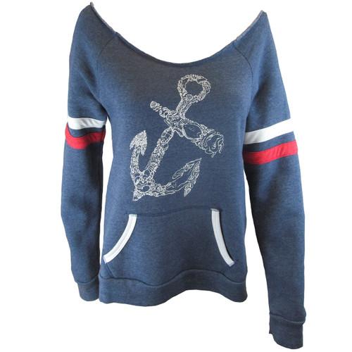 Lux Sweatshirt - Anchor Seascape