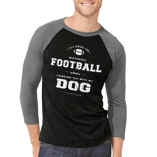 Dog and Football Game Day Jersey