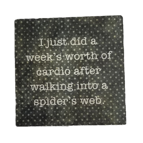 Paisley and Parsley Coaster - I just did a week's worth of cardio