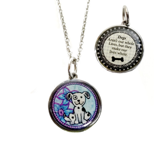 Spirit Lala Necklace -Dogs Make Our Lives Whole