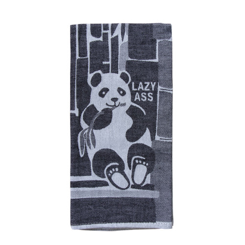 Blue Q Dish Towel - LAZY ASS
