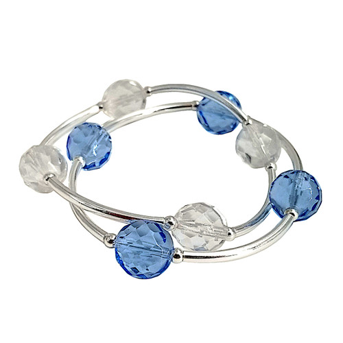 Blessing Bracelets - Faceted Czech Glass