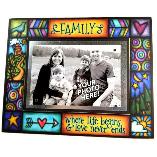 Wood Art Frame - Where Life Begins