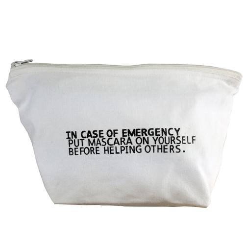 Makeupbag - In Case of Emergency