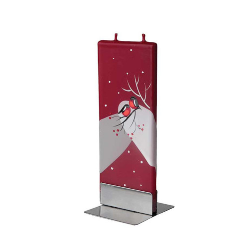 Flatyz Candles - Holiday Birds -Red