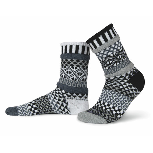 Solmate Socks - Midnight Garden