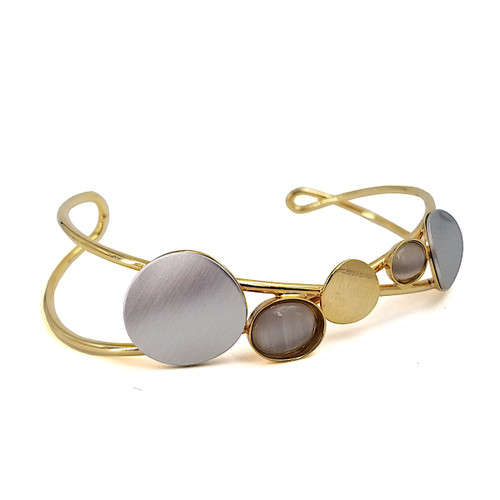 Christophe Poly Circular Steps Cuff