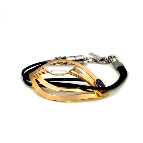 Christophe Poly Brass Eye Bracelet