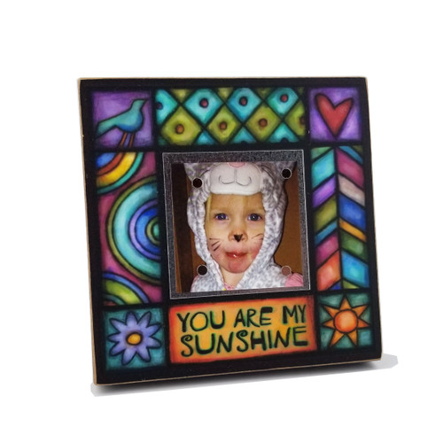 Wood Art Small Frame - You are my sunshine