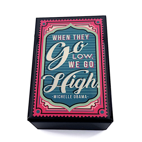Slide Box with Matches - Obama Quote
