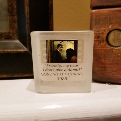 Gone with the Wind - Frankly My Dear Votive Holder