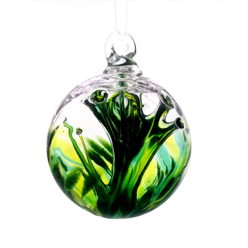 Luke Adams Glass Blown Wishball - Luck