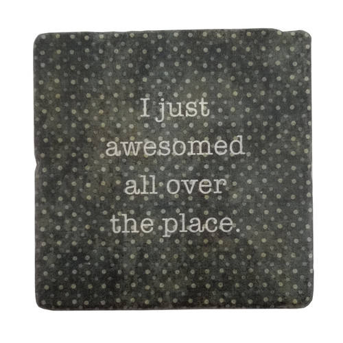 Paisley and Parsley Coaster - I just awesomed all over the place