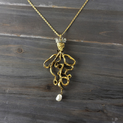 King Octopus Necklace